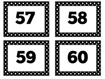 Number Cards | Numbers | Numbers 1-100 | Printable Number Cards