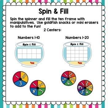Number Sense Games 0-20