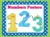 Number Posters   Preschool Kindergarten   Classroom Decor
