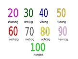 Numbers 20 - 100