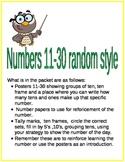 Numbers 20-30 Random Style