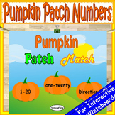 Pumpkin Activities Kindergarten | Number Recognition 1-20 | Fall Activities