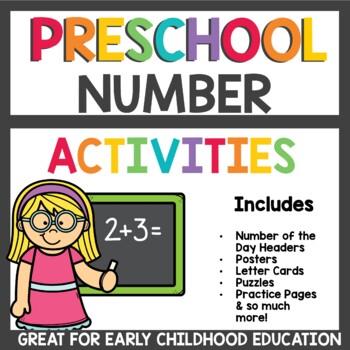 Preschool Number Activities