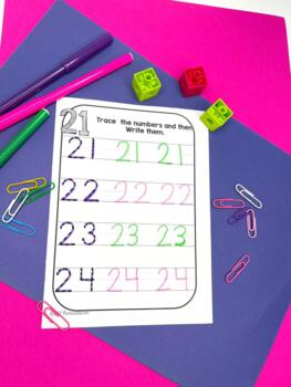Numbers 2140 Numbers To 40 Worksheets