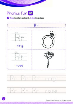 Numbers - 21 to 50 (IV): Letter R - K2 (4 years old), Kindergarten