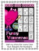 St Valentine's Day Dollar Deal Color By Number Funky Valentine Know Your Numbers