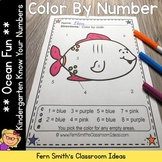 Color By Numbers Ocean Know Your Numbers