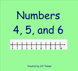 Numbers 4, 5, and 6