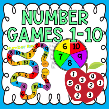 Numbers 1-10 Activities & Games {Number Sense}