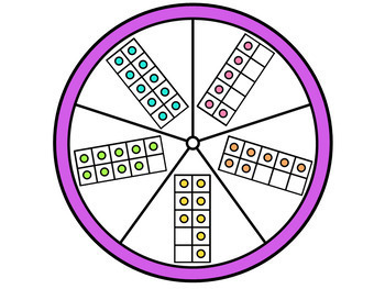 Numbers 6-10 Math Station
