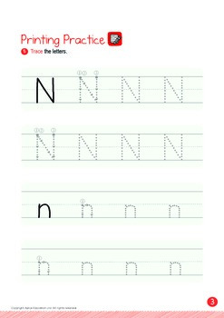 Numbers - 6,7,8,9,10 (I): Letter N - K1 (3 years old), Kindergarten