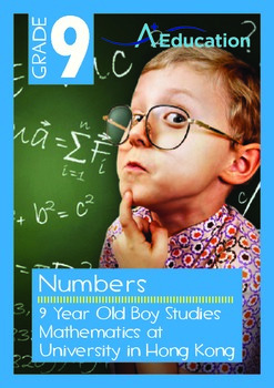 Numbers - 9 Year Old Boy Studies Mathematics at University