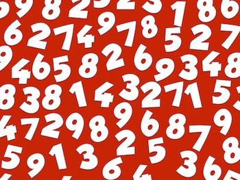 Numbers  --  A Digital Paper Pack!