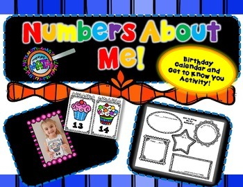 Numbers About Me~Getting to Know You Activity