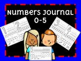 Numbers Activity Journal Worksheets