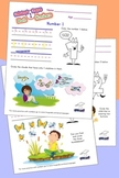 Numbers Activity Sheets 1 to 10 - Printout Pages from TinyGrads.com