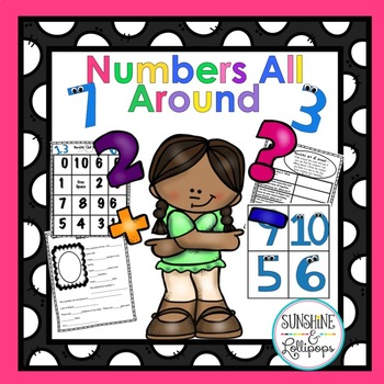 Number Sense Math: Numbers All Around Numbers about Me!