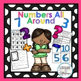 Number Sense Math Numbers All Around Numbers about Me!