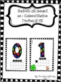 Numbers All Around Us: Colored Classroom Number Posters