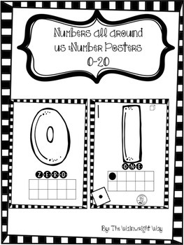 Numbers All Around Us: Classroom Number Posters