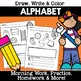 Numbers Alphabet Counting Bundle Worksheets Practice