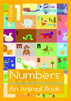 Numbers - An Animal Book - Grade 1