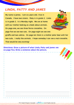 Numbers - An Animal Book - Grade 1 (with 'Triple-Track Writing Lines')