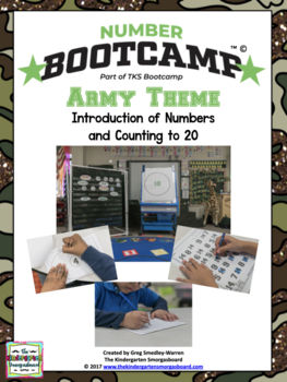 Numbers And Counting!  NUMBER BOOTCAMP 1-20!