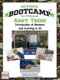 Numbers And Counting!  NUMBER BOOTCAMP 1-20! Army Edition!