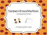 Numbers Around the Room- Thanksgiving Version