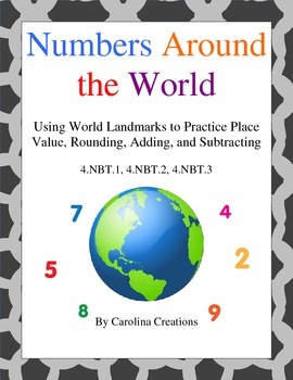 5th grade place value projects resources lesson plans teachers ordering numbers around the world rounding adding subtracting place value ordering fandeluxe Gallery