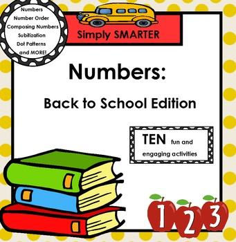 NUMBERS:  Back to School Edition