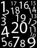 Numbers Background