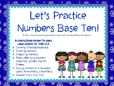Numbers Base Ten and Place Value- Projectable Review