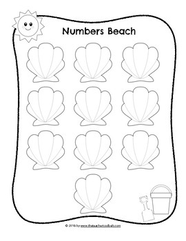 Numbers Beach Number Trace