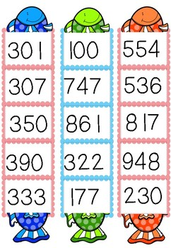 Numbers Before & After - Up to 3-digit
