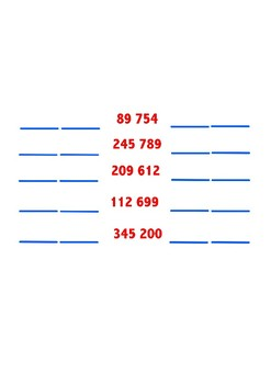 Numbers Before And After Activity