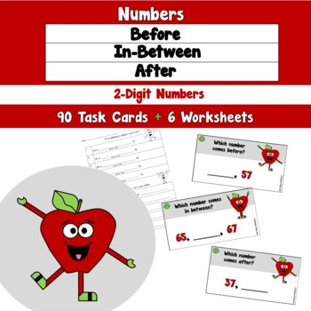 Numbers Before, In-Between, and After 2 Digit Numbers