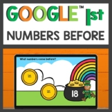 Numbers Before Practice for Google Classroom™ for Distance