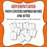 Numbers Before and After to 20 and beyond.