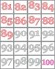 Number Bingo, Numbers 1-100 Classroom Game