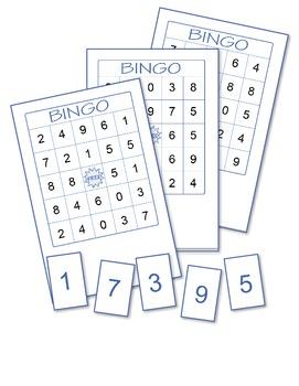 Numbers Bingo 1