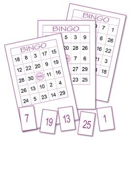 Numbers Bingo 3