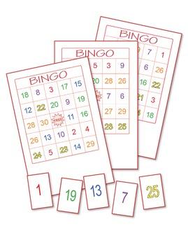 Numbers Bingo 4