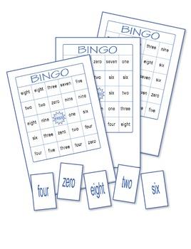 Numbers Bingo 5