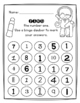 Number Identification:  Find and Dab