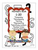 Numbers Book 1-20 K-1 CCSS