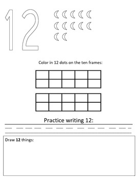 Numbers Book 11-20