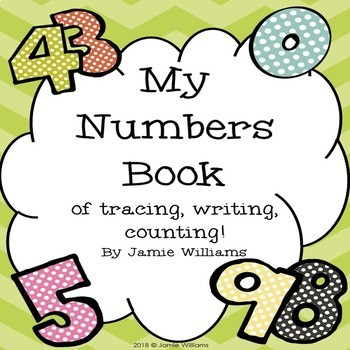 Numbers Book of Tracing, Writing, and Counting