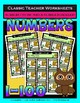 Numbers Bundle-Numbers 1 to 100-Set 2- 1st Grade (Grade 1) 2nd Grade (Grade 2)